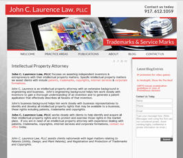 Intellectual Property Attorney Website Design