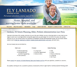 Elder Law Attorney Website Design