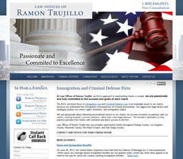 Immigration Attorney Website Design