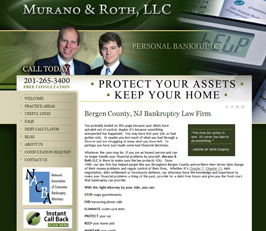 Bankruptcy Attorney Website Design