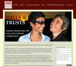 Estate Planning Attorney Website Design