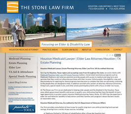 Elder Law Attorney Website Design