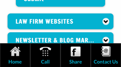 Law Firm Mobile Website Design/Development