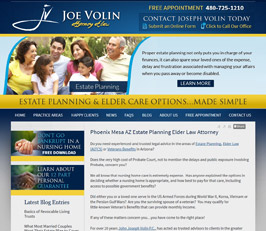 Estate Planning Attorney Website Design